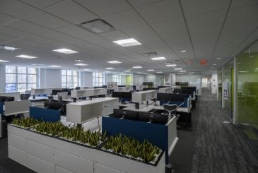 Becton Dickinson – C2 Office Renovation